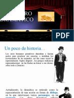 EL GÉNERO DRAMÁTICO 3º.ppt