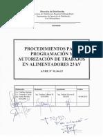 ANDE 01.04.15 - Procedimientos para programacion y autorizacion