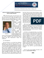 GOP Newsletter - February 2011