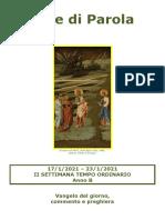Sete di Parola - II Settimana T.O., Anno B.doc