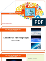 Ciências - Atmosfera e sua composição - 7º ano - Padre Lebret - Prof. Gilvan Serafim Filho