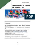 Unidad 1. Recurso 3. Relaciones Internacionales de América en el siglo XIX y XX