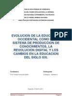 Evolucion de La Educ. Occidental Damian Acarigua