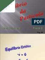 EQUILIBRIO DA PARTICULA