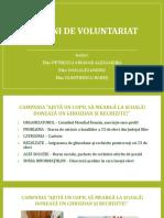 Acțiuni de voluntariat