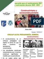 T1_CONSTRUCTIVISMO-SOCIOCONSTRUCTIVISMO N2021