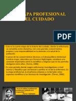 LA ETAPA PROFESIONAL DEL CUIDADO- GRUPO 4