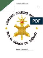 COMPENDIO DE ÉTICA MILITAR III