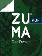 PROYECTO DESARROLLO DE UN PRODUCTO - Zuma