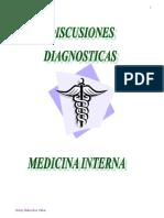 Discusiones Diagnósticas. Medicina Interna