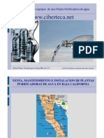 Venta Plantas Purificadoras de Agua Baja California