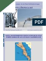 Venta Plantas Purificadoras de Agua Baja California Sur