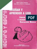 ENSEÑAR Y APRENDER A LEER.pdf
