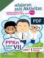 Modul Pembelajaran Berbasis Aktivitas PJJ PPKn Kelas 7