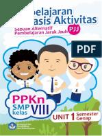 Modul Pembelajaran Berbasis Aktivitas PJJ PPKn Kelas 8