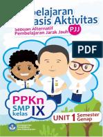 Modul Pembelajaran Berbasis Aktivitas PJJ PPKn Kelas 9