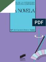 Bobes Naves, Maria del Carmen - La novela