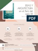 Wiley Ludeña IDEAS Y ARQUITECTURA EXPOSICION