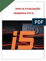 Guia Rápido de Atualização do Azamerica IPTV I