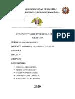 LOS COMPUESTOS DE INTERCALACIÓN DE GRAFITO