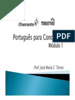 Portugues para Concursos - Modulo I.pdf