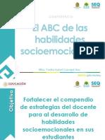 Conferencia 5 - El ABC de las habilidades socioemocionales