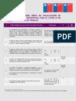 Formulario Fiscalización de Medidas Preventivas COVID