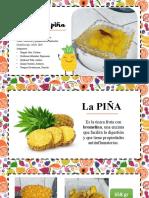 COMPOTA DE PIÑA