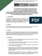 PCM - Anexo del Decreto Supremo N° 064-2010-PCM