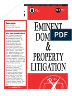 MoBarCLE Eminent Domain & Property Litigation