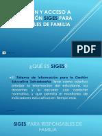 MANUAL PARA INSTALACIÓN DE APLICACIÓN SIGES PARA RESPONSABLES DE FAMILIA