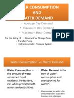 #WATER DEMAND