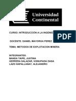 Métodos de Explotación Minera Work (1)