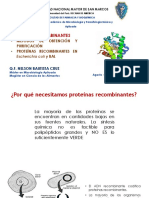 Proteínas recombinantes 2020