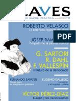 Revista Claves - El Futuro de La Democracia Sartori, Dahl, Vallespin