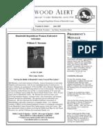 HRWF July 2009 Redwood Alert