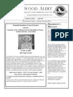 HRWF June 2009 Redwood Alert