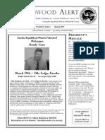 HRWF March 2009 Redwood Alert