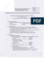 Data Pelaksanaan Kegiatan Penanganan COVID-19 Pada Laboratorium