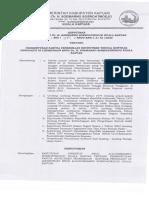Pembentukan Panitia Penerimaan Rekrutmen Tenaga Kontrak Pengganti Di Lingkungan RSUD Dr. H. Soemarno Sosroatmodjo Kuala Kapuas 2020