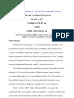 Payne v Gardner Supreme Court
