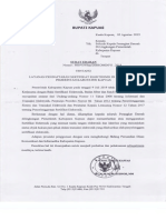 Surat Edaran Layanan Pendaftaran Sertifikat Elektronik Di Lingkungan Pemerintah Kabupaten Kapuas