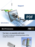 WB Bolt Pretension
