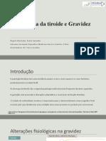 Patologia da tiroide e Gravidez