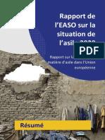 Rapport de l'EASO  sur la situation de l'asile 2020