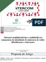 Apresentação Intercom 2020 GP Rádio