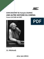 DOUCHET, Jean & François CAUNAC • Une autre histoire du cinéma (France Culture, 2007) • 11. Hitchcock (+mp3)