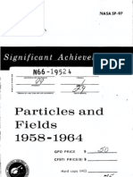 Significant Achievements in Particles and Fields 1958-1964