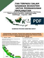 Pendekatan Terpadu dalam mempertahankan ekosistem sumatra