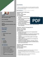 Resume -1